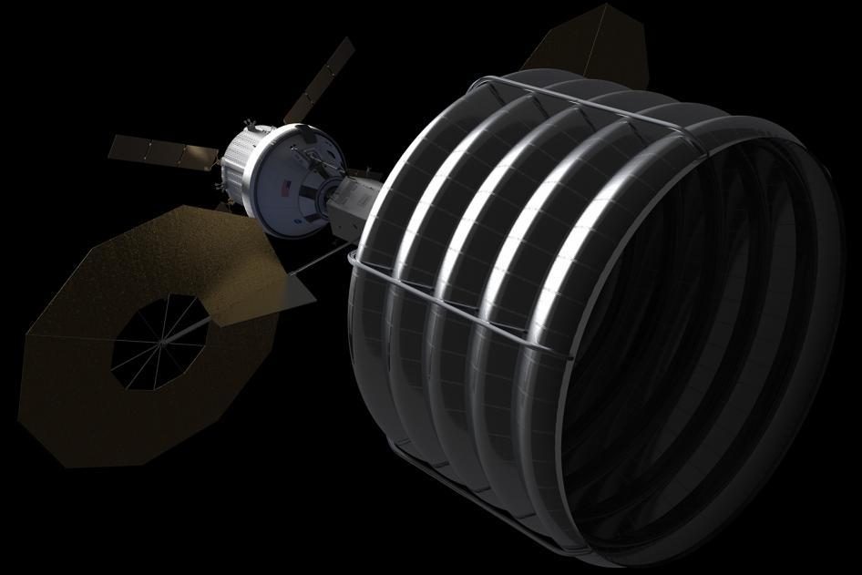 Nave robótica captura asteroide