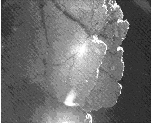Philae penhasco