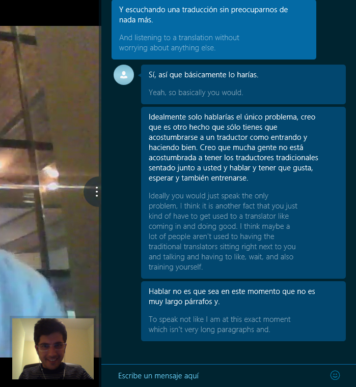 Teste do Skype Translator (1)