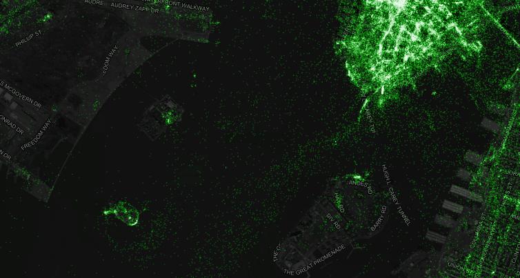 mapa de tweets 2