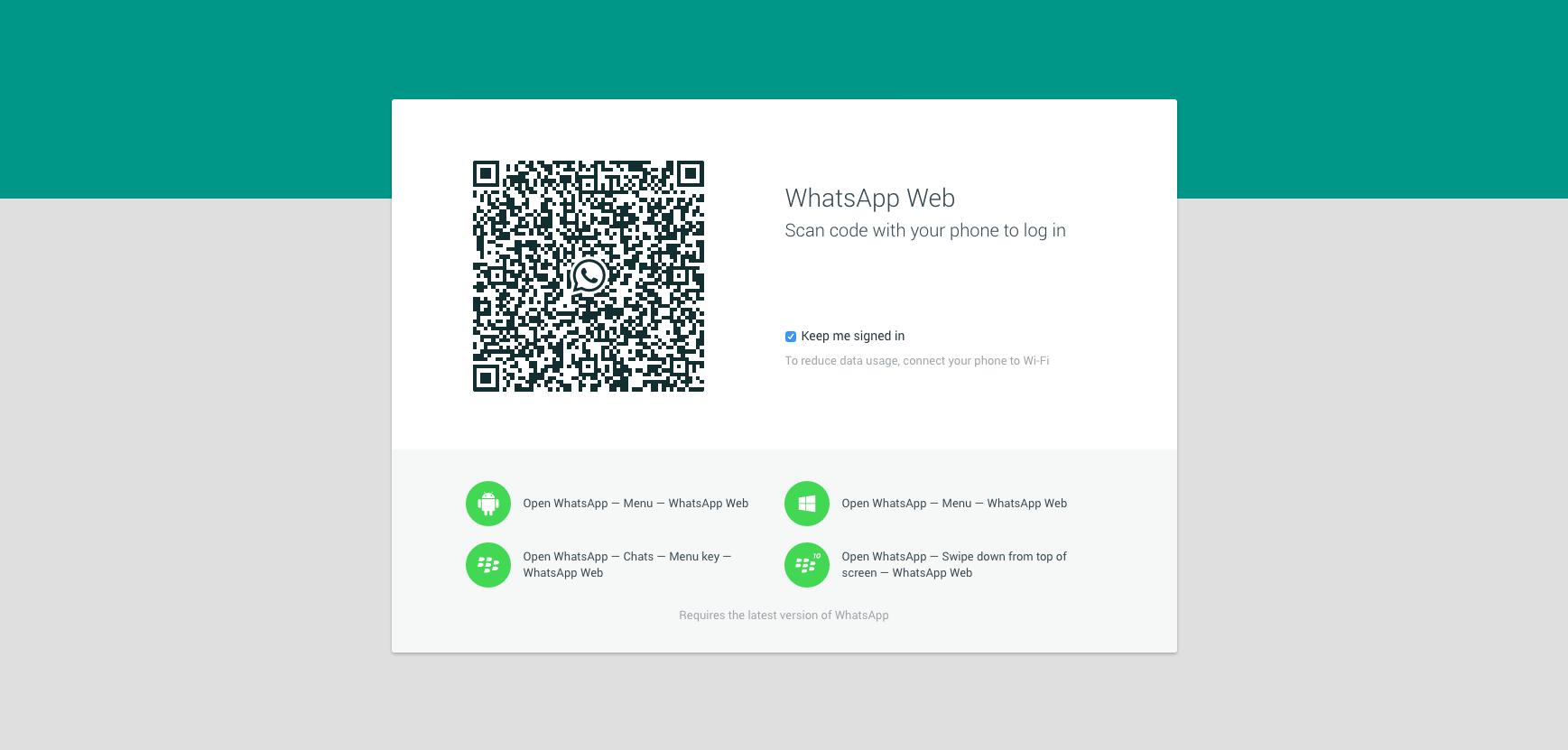 WhatsApp Web é lançado oficialmente para usuários de Android, Windows Phone e BlackBerry