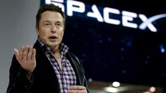 Elon Musk na SpaceX