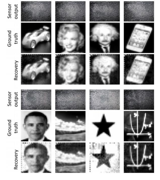 Exemplos do algoritmo SparkleVision