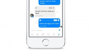 Facebook Messenger - texto para voz