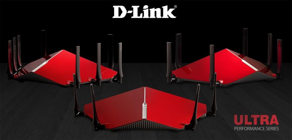 Família de roteadores da D-Link