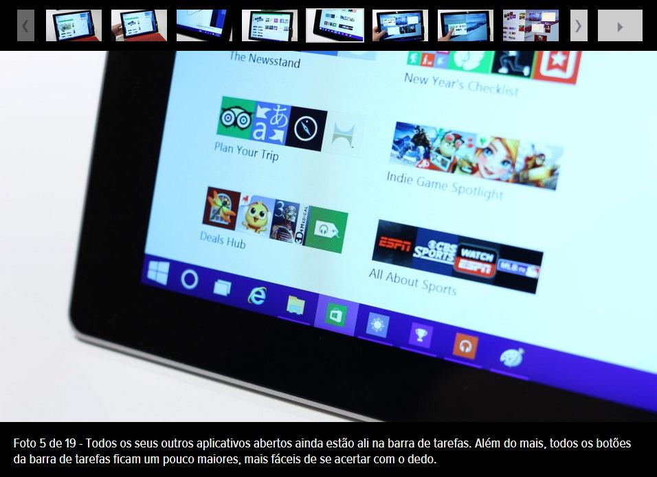 Guia visual do Windows 10