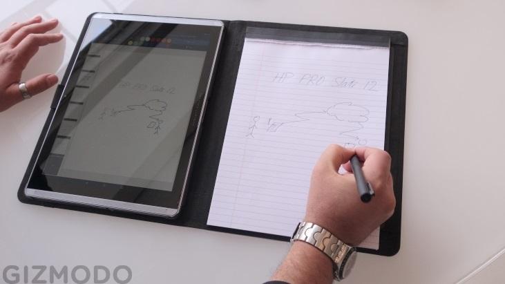 HP Pro Slate e caneta Duet Pen (1)