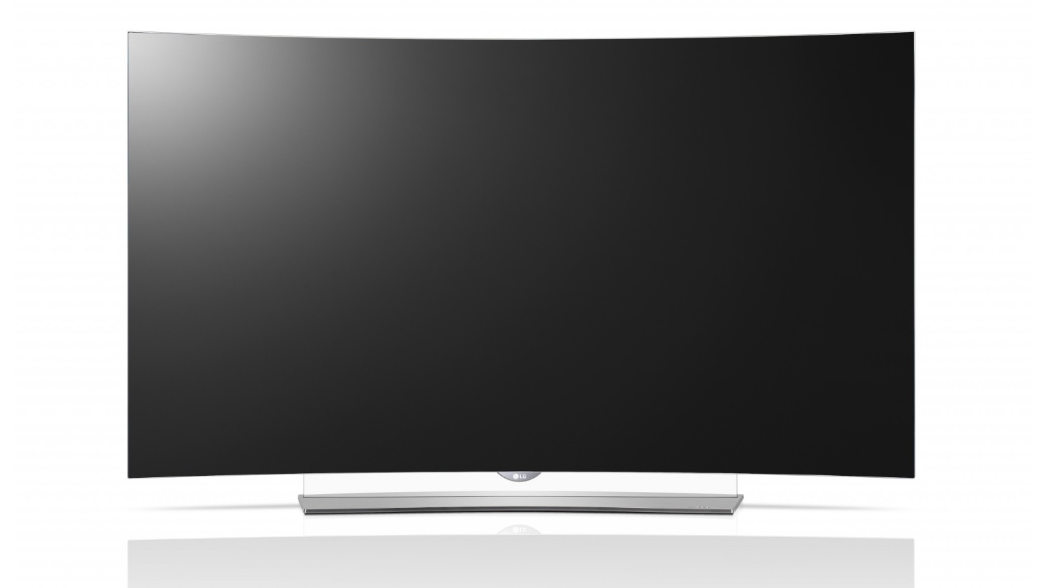 LG OLED TV com base transparente