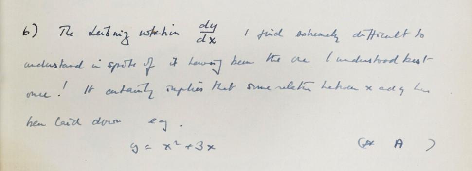 Manuscrito de Alan Turing