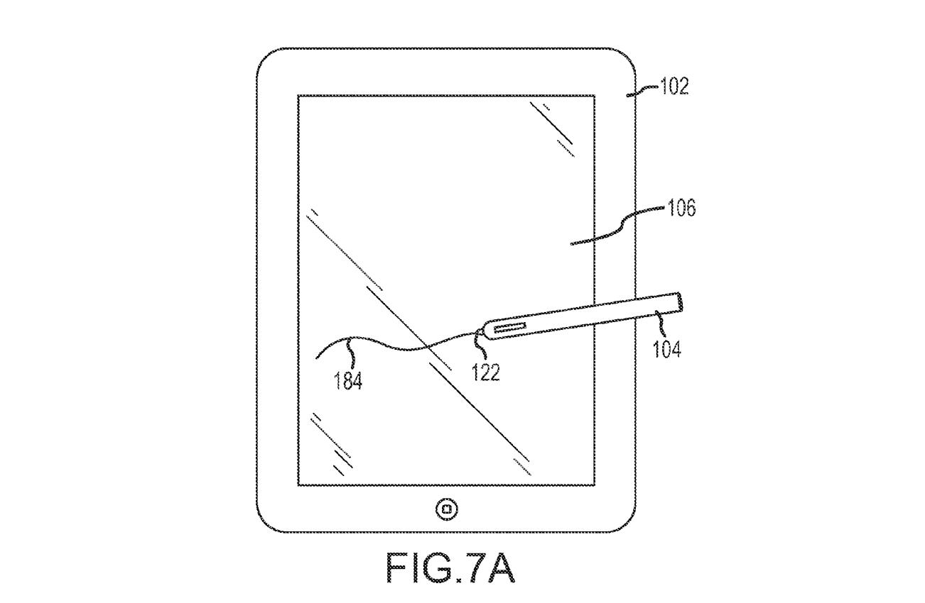 Patente de caneta stylus da Apple