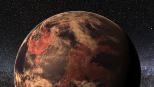 Planeta parecido com a Terra