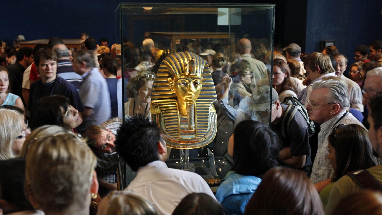 Rei Tutancamon no museu