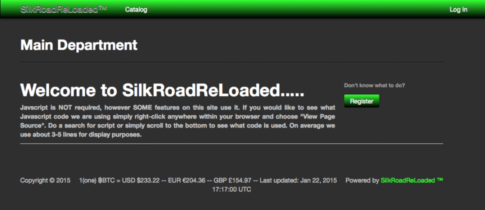 Silk Road Reloaded
