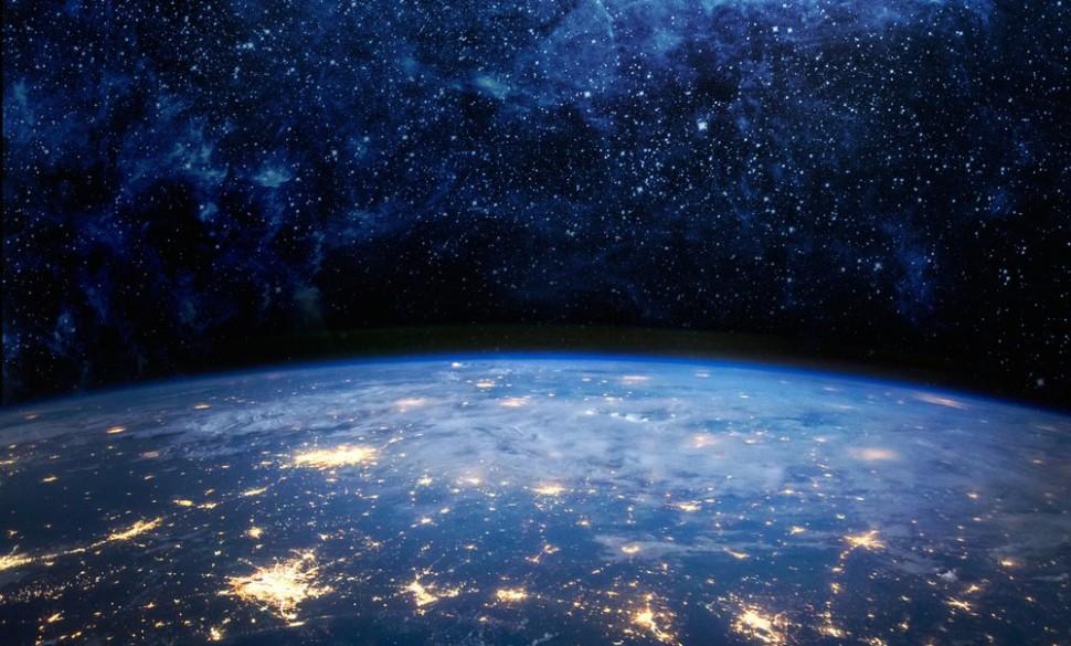 Terra à noiteeeeee