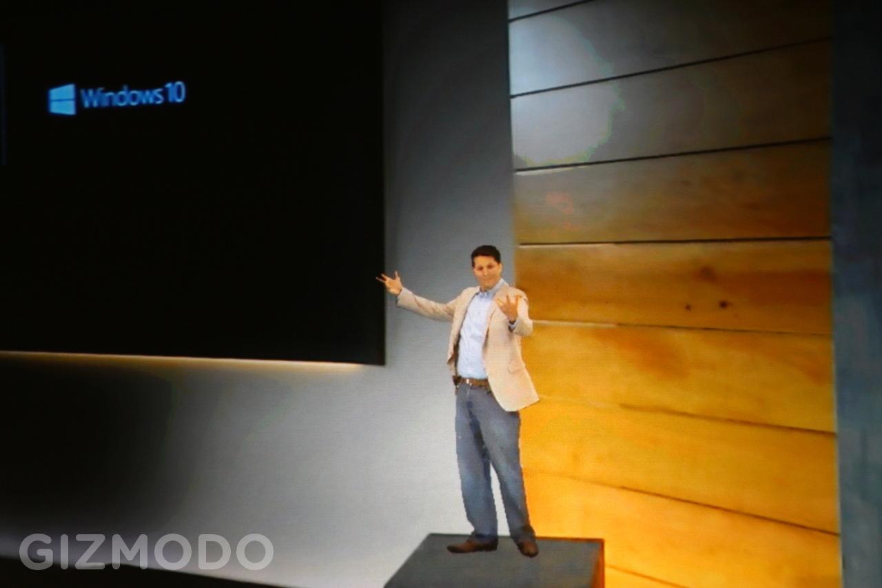 Terry Myerson virou holograma