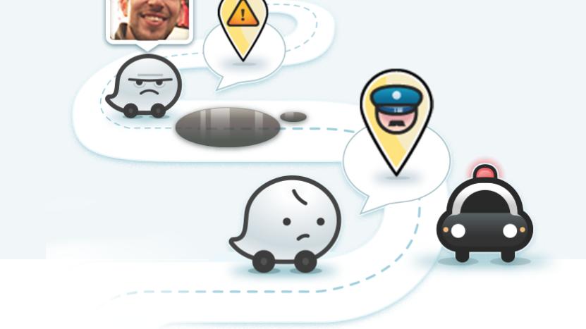 Waze com icones