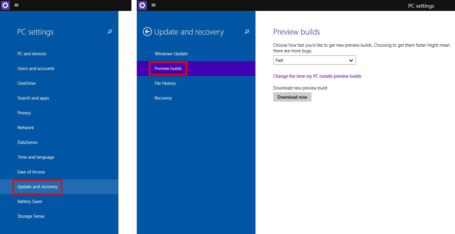 Windows 10 - atualizar