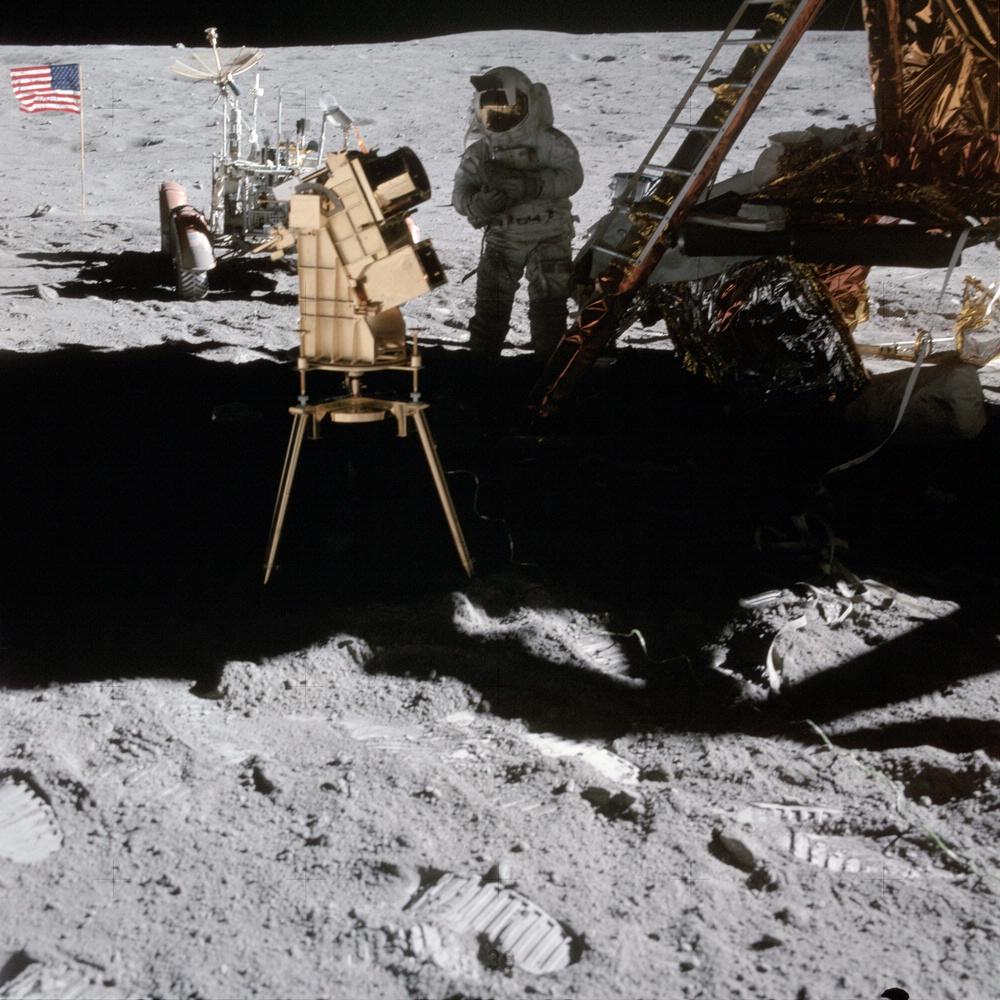 cocô na lua 02 telescópio