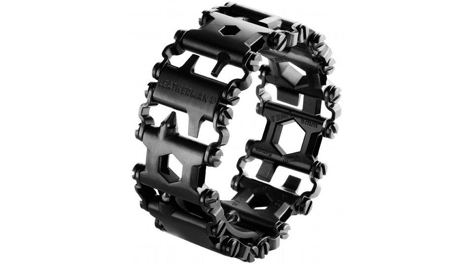 Esta pulseira tem 25 ferramentas para você levar no seu braço