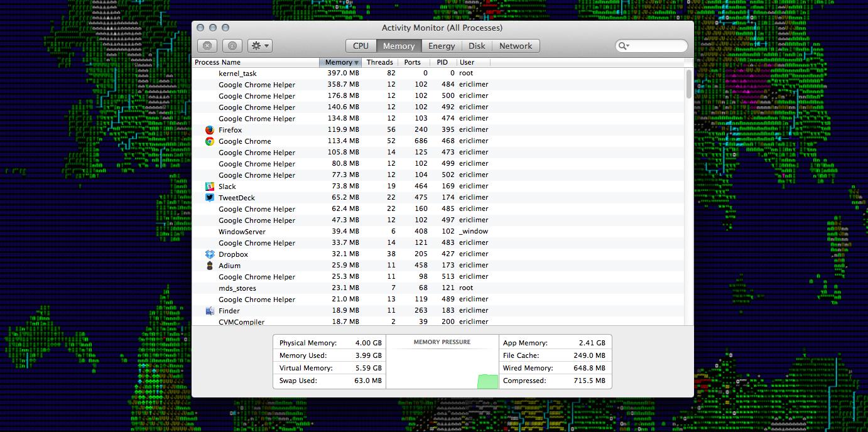 Chrome consumindo memoria