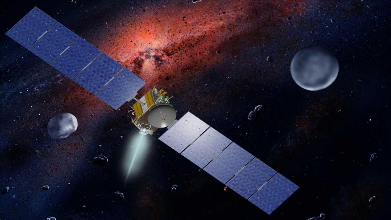 O longo caminho em espiral para esta sonda da NASA descobrir segredos do sistema solar