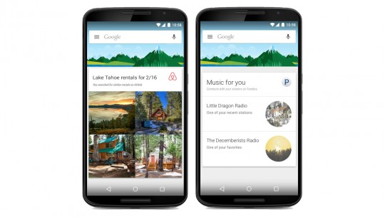 Google Now - cards de terceiros