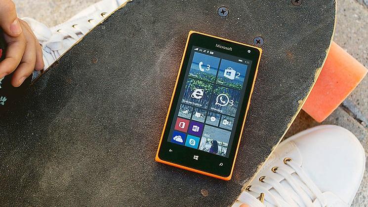 Lumia 435 no skate