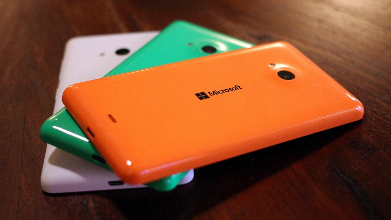 Lumia 535 na mao