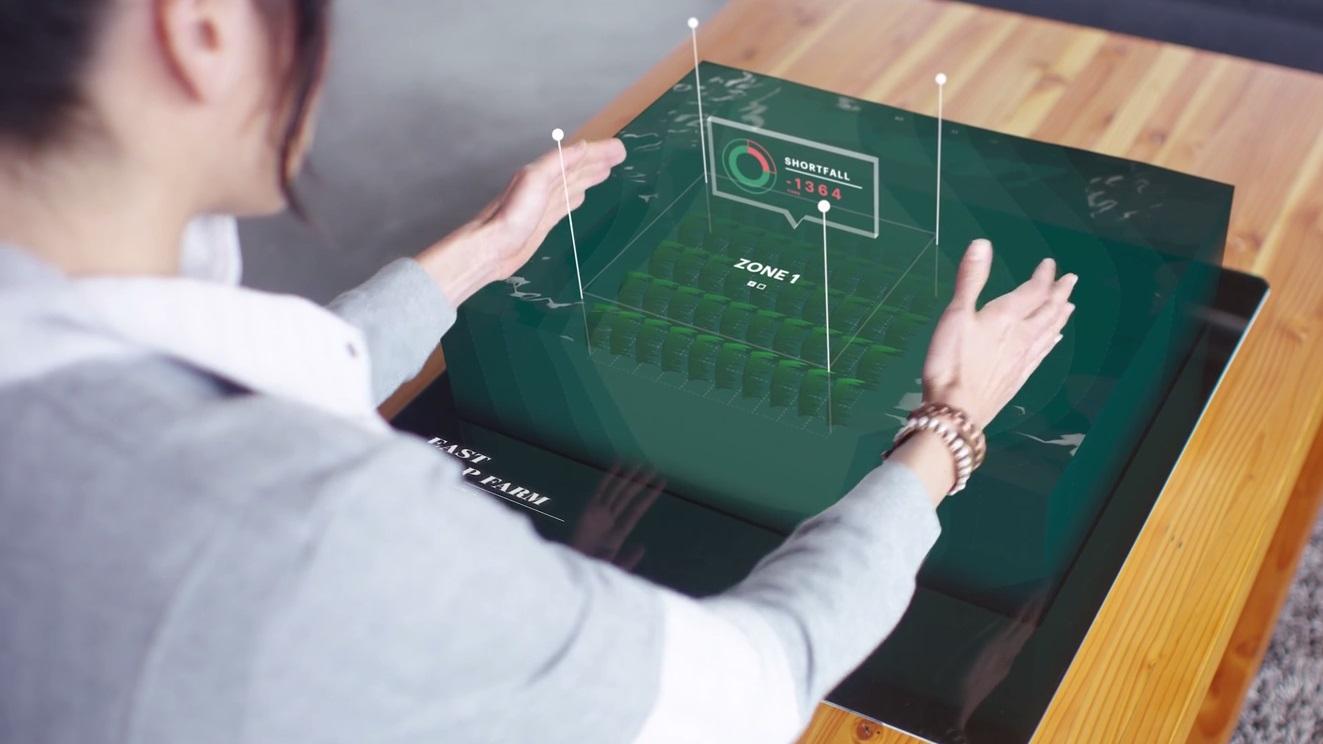 Microsoft e futuro - holograma
