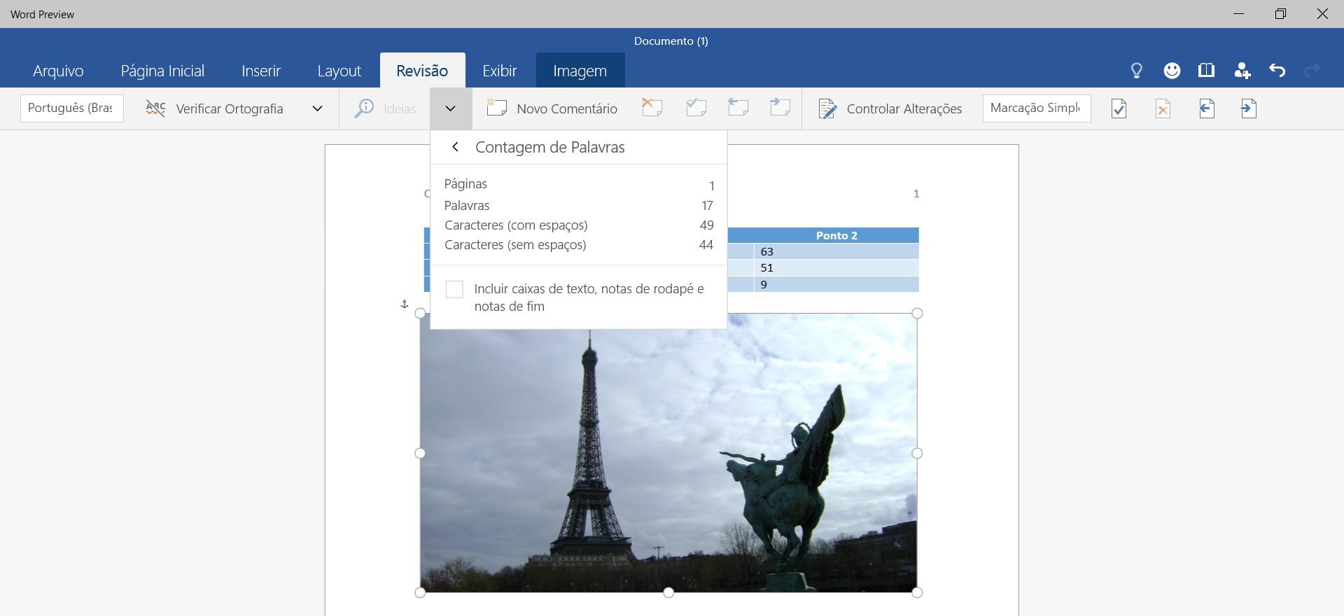 Office para Windows 10 - criando documento no Word