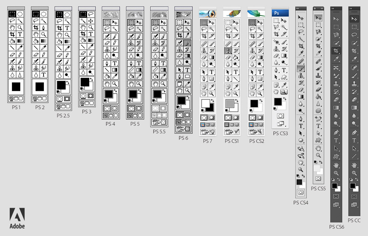 Photoshop-Toolbars-Through-the-Years_Version-B