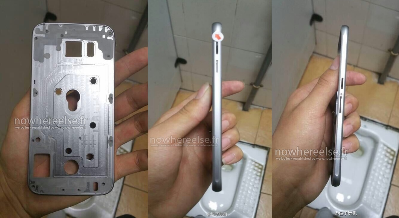 Samsung Galaxy S6 - chassis de metal