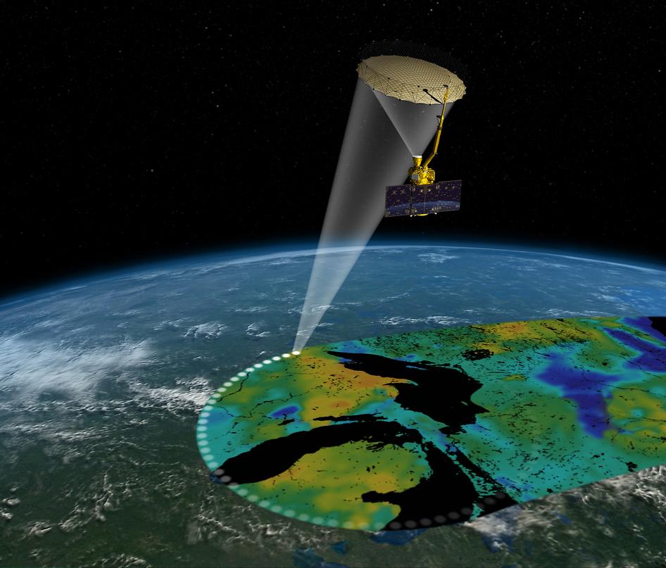 Satélite da NASA chega à órbita da Terra para ajudar países a combater falta d'água