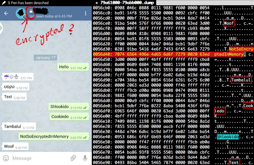 Telegram e criptografia