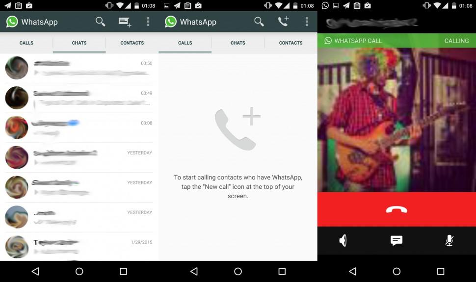 WhatsApp testa chamadas gratuitas