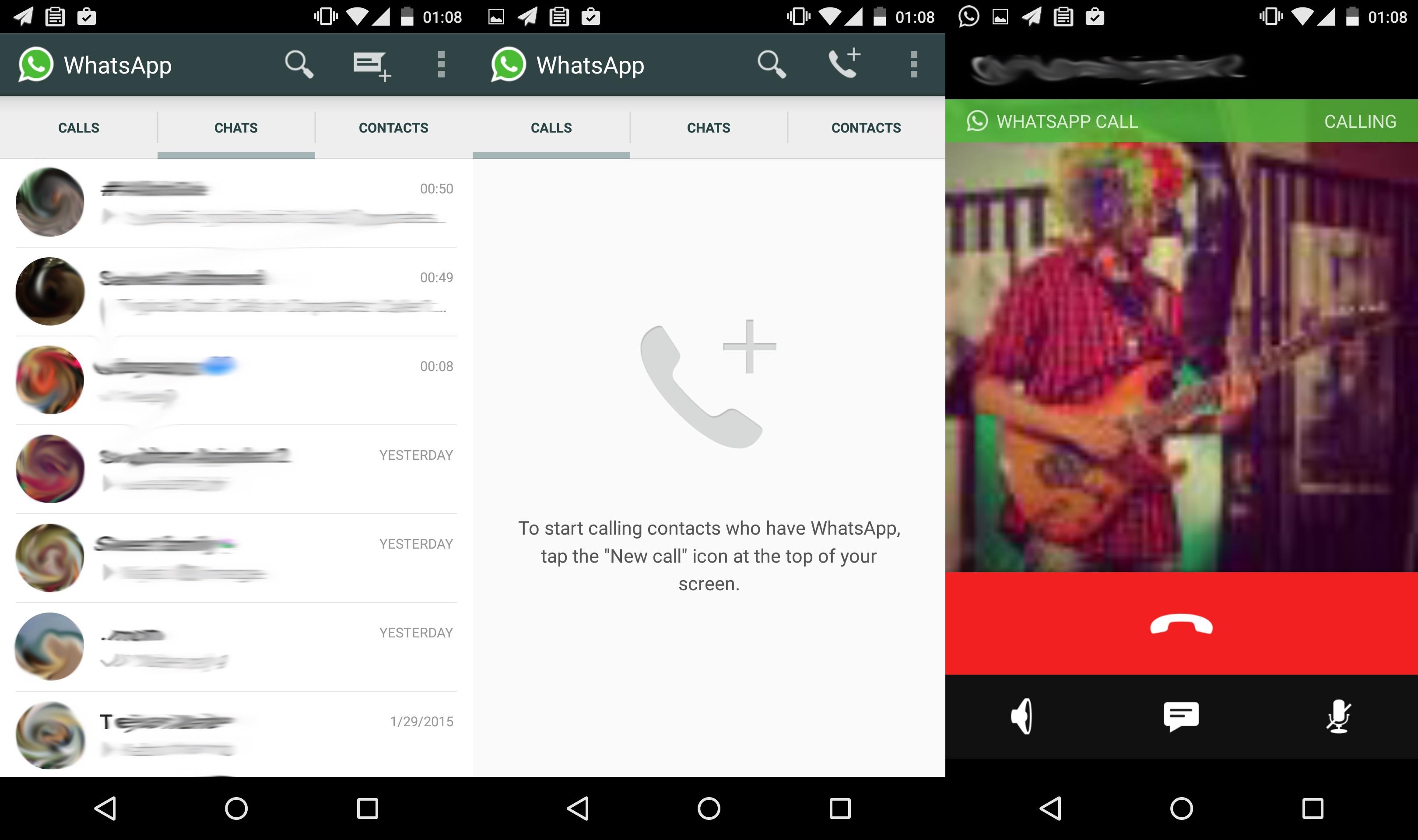 WhatsApp testa recurso de chamadas por voz gratuitas com alguns usuários