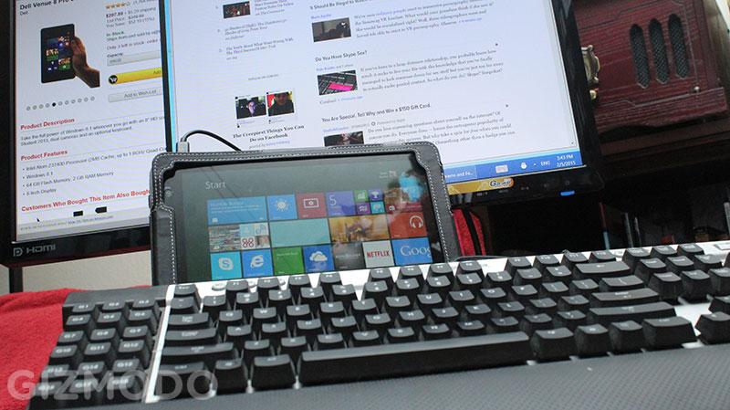 Poderia um tablet baratinho substituir o seu desktop?