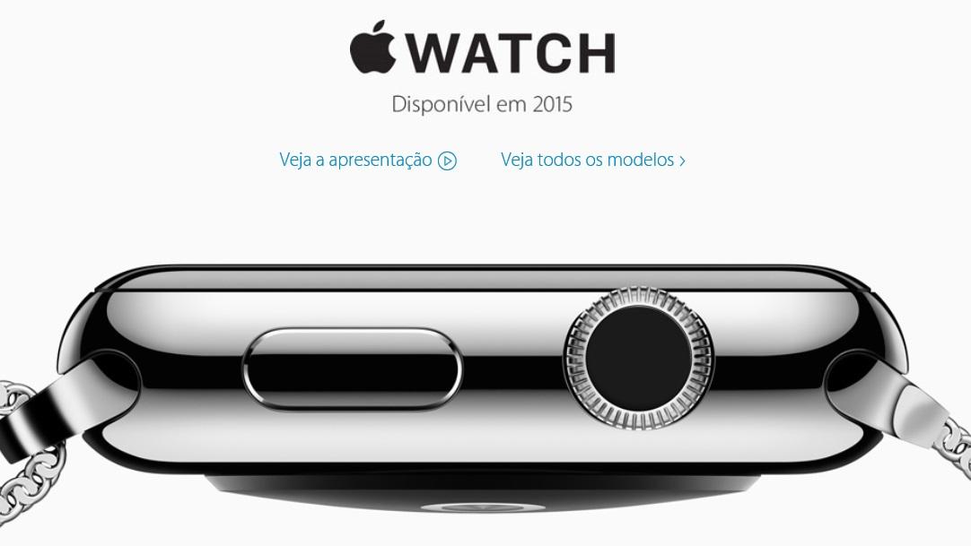 Apple Watch em 2015