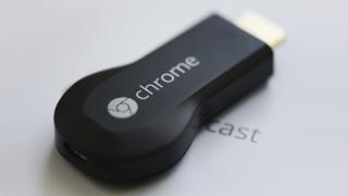 Chromecast deitado