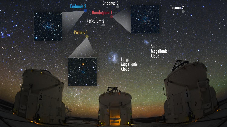 Galáxias anãs cheias de matéria escura são encontradas orbitando a Via Láctea
