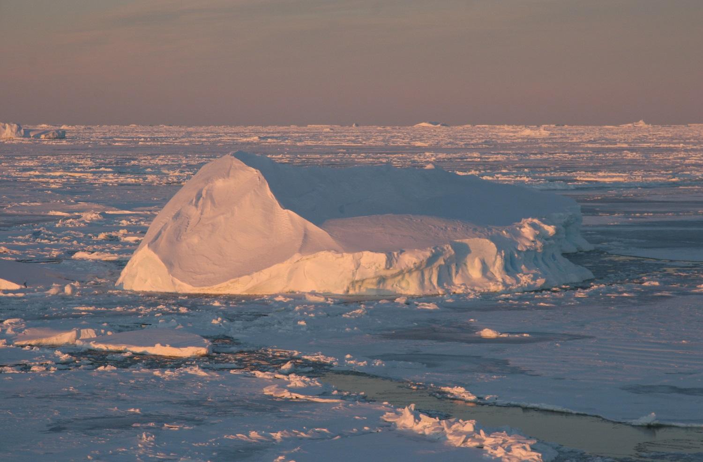 Gelo na Antartida