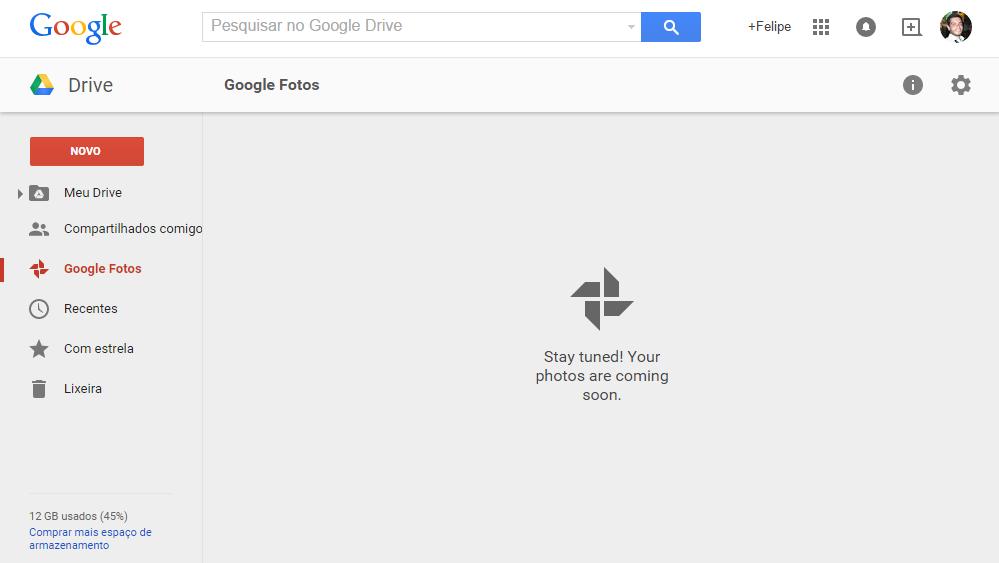 Google Fotos na web