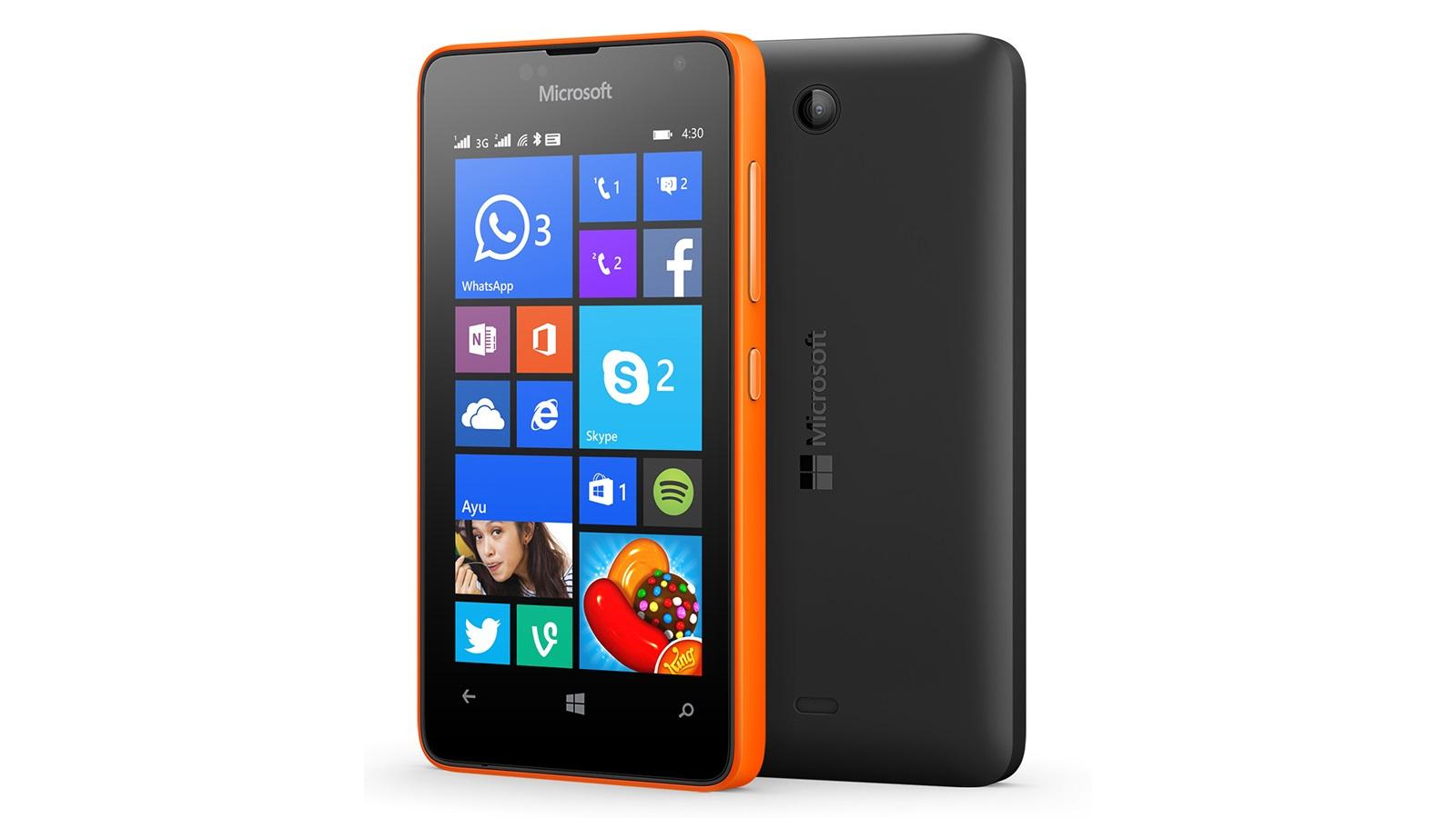 Lumia 430 - cores
