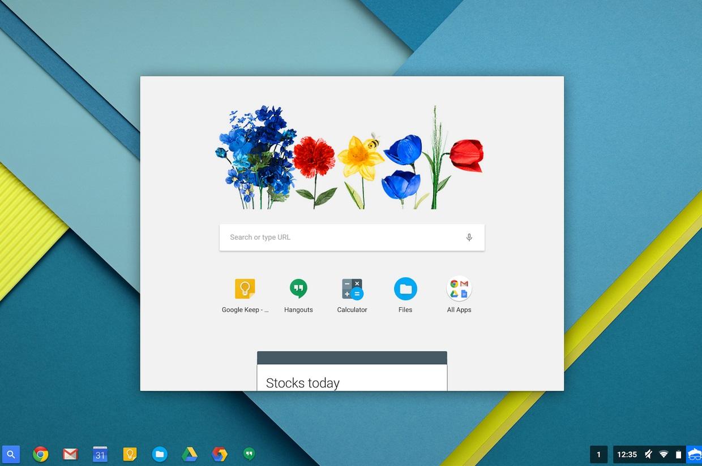 Novidades no Chrome OS (1)