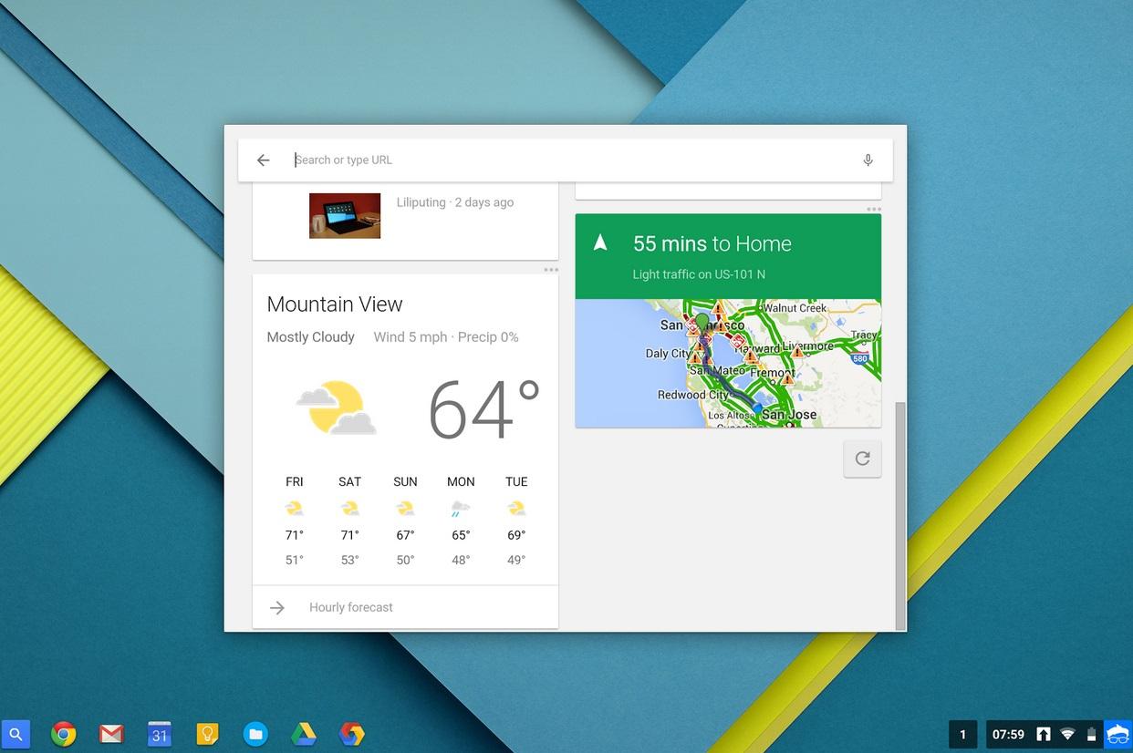 Novidades no Chrome OS (2)