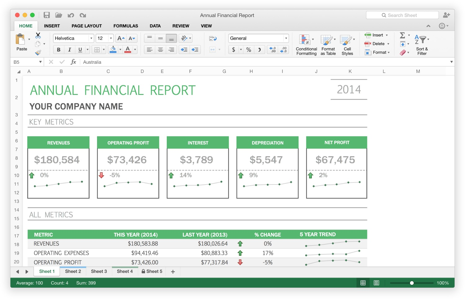 Office 2016 - Excel