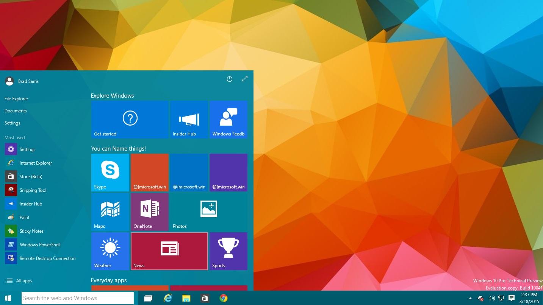 Windows 10 será uma atualização gratuita para quem tem Windows 8.1, Windows 7 e Windows Phone