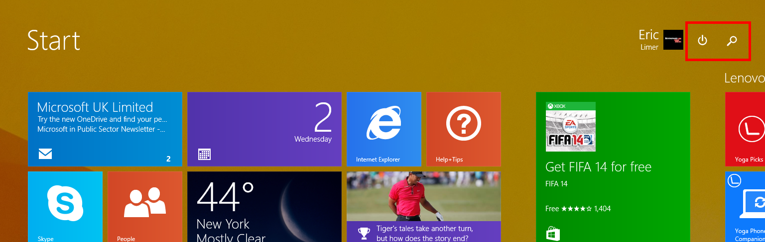 Windows 8.1 Update instalado
