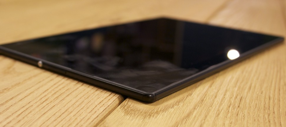 Xperia Z4 Tablet - hands-on (1)