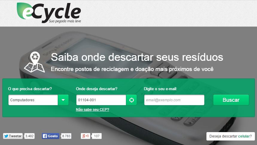 eCycle - reciclagem